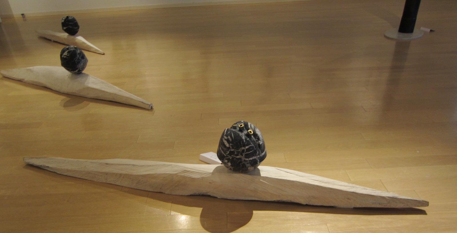 2065)「[現代書と彫刻のコラボレーション] -環境空間アートの提案-」 エッセ 5月21日(火)~5月26日(日)_f0126829_10525842.jpg