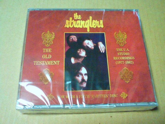本日到着CD 〜 The Old Testament:The U.A.Studio Recordings(1977-1982) / The Stranglers_c0104445_22163074.jpg