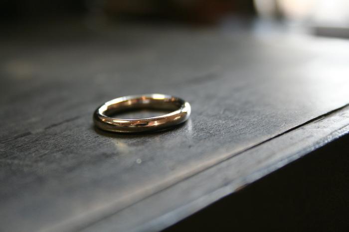 結婚指輪のリメイク_b0220167_23524238.jpg