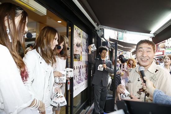 SCANDALと5人の堤真一(!?)が渋谷に出没!蛭子能収もポテトにつられて出没…!?_e0197970_13531122.jpg