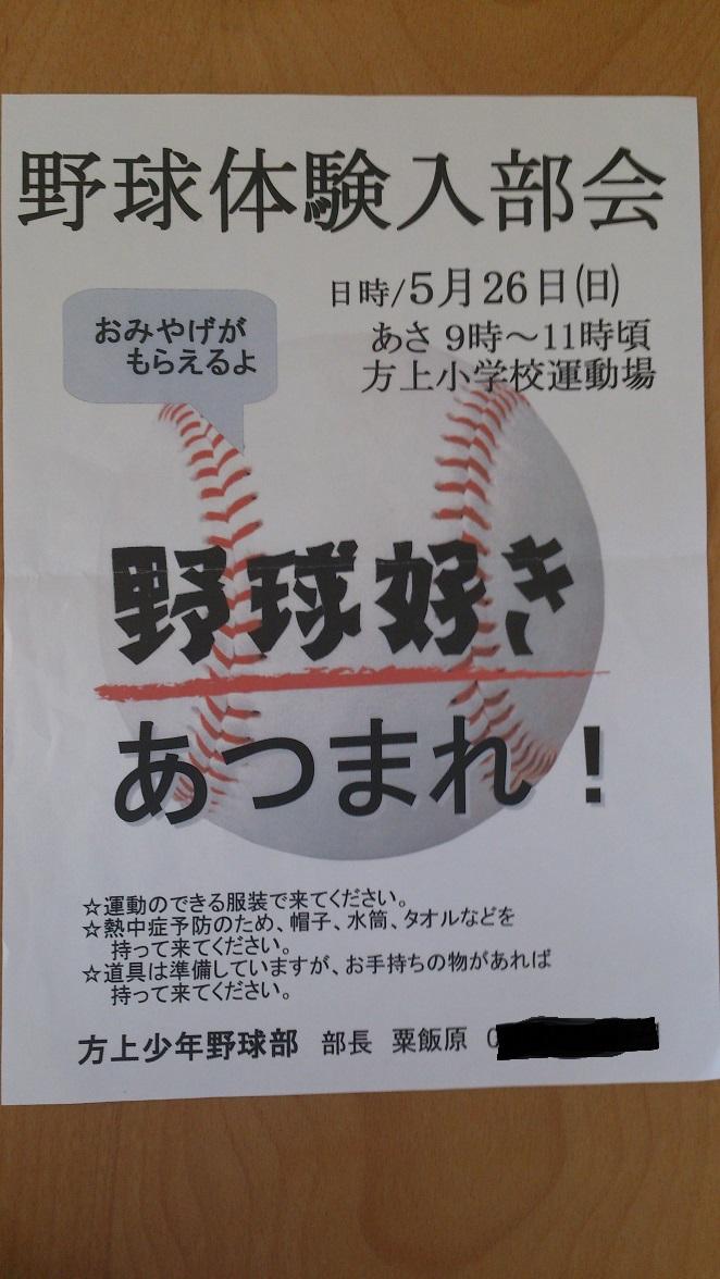 少年野球 ~野球好き集まれ!!~_f0172281_13381836.jpg