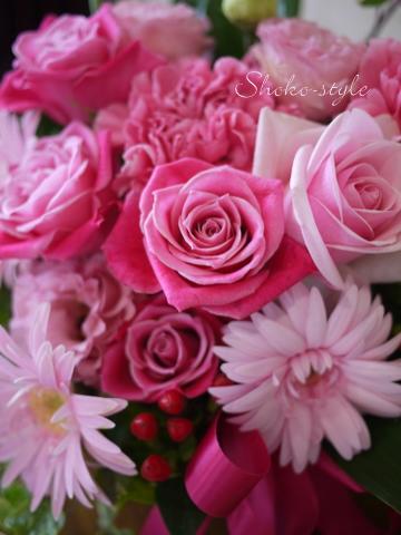 ピンクの贈りもの_a0135999_1510441.jpg