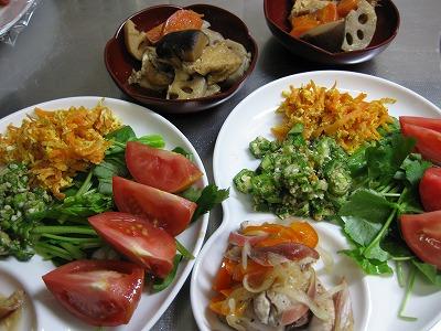 お弁当♪ と ワンプレ-ト盛り♪_f0116812_18213126.jpg