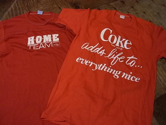 5/25(土)入荷!70-80'S COKE&PEPSI Tシャツ!_c0144020_1555525.jpg
