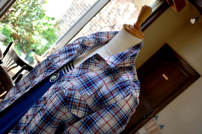 """""""人気インナーをレイヤードにシャーリングシャツを羽織る大人マキシワンピ""""_d0153941_11542310.jpg"""