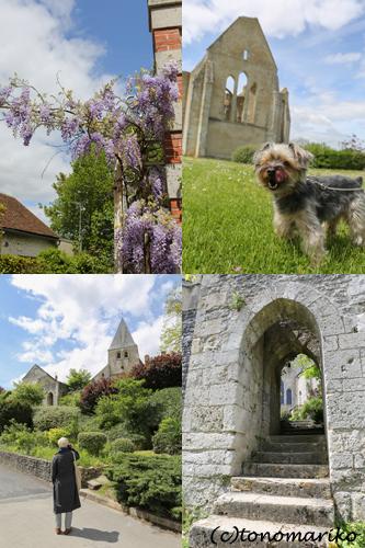 フランスで最も美しい村「Yèvre-le-Châtel」_c0024345_7555852.jpg