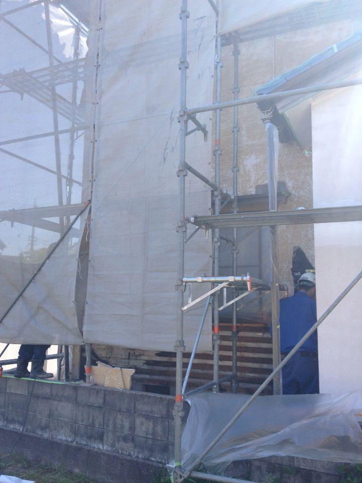 「外壁修繕工事」@金沢市_b0112351_1147048.jpg