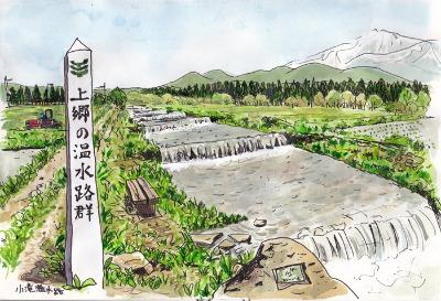 秋田県にかほ市象潟のスケッチ_f0072976_1403573.jpg