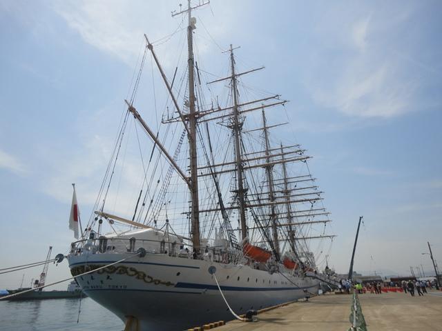 バリシップ2013・帆船『日本丸』一般公開/今治市 no1_f0231709_19533776.jpg