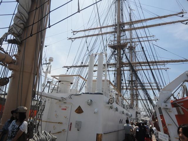 バリシップ2013・帆船『日本丸』一般公開/今治市 no1_f0231709_19545238.jpg