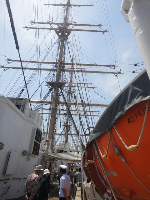 バリシップ2013・帆船『日本丸』一般公開/今治市 no1_f0231709_19554022.jpg