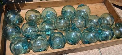 古いガラス浮き玉 入荷しました_d0263815_14493713.jpg