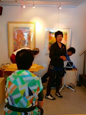 「麗」なる人/イベントから~Sumiko Okubo Exhibition in KYOTO_a0254818_1630416.jpg