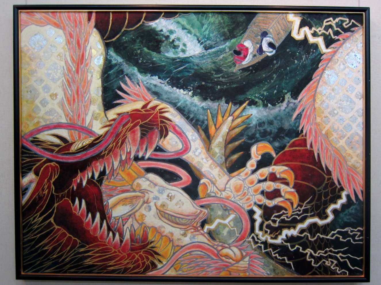 2072)②「北の日本画展 第28回」 時計台 終了5月20日(月)~5月25日(土)_f0126829_22251545.jpg