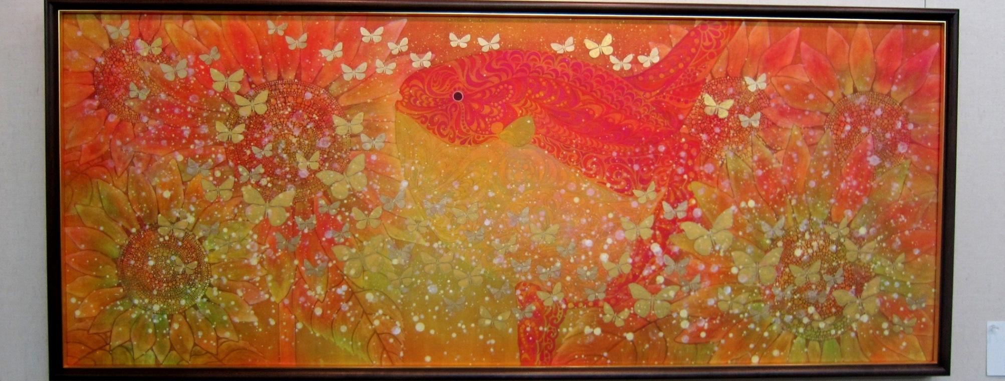 2072)②「北の日本画展 第28回」 時計台 終了5月20日(月)~5月25日(土)_f0126829_22535529.jpg