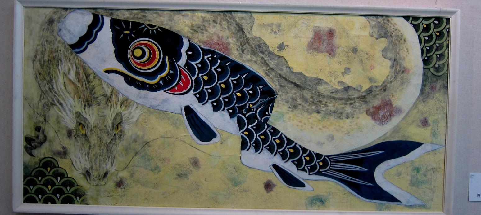 2072)②「北の日本画展 第28回」 時計台 終了5月20日(月)~5月25日(土)_f0126829_2256882.jpg