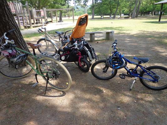 家族でサイクリング_c0132901_1824281.jpg