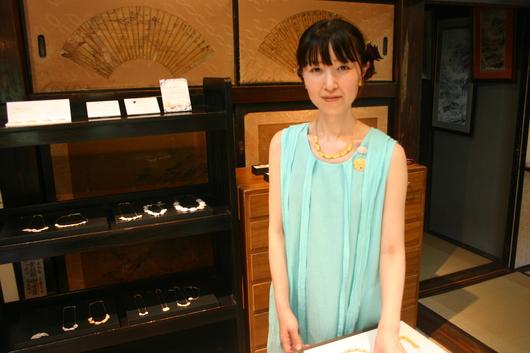 岡本桜 SOーjewelry展の様子_c0256701_7185518.jpg
