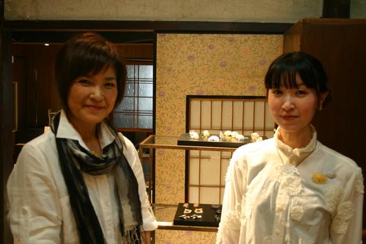 岡本桜 SOーjewelry展の様子_c0256701_720345.jpg