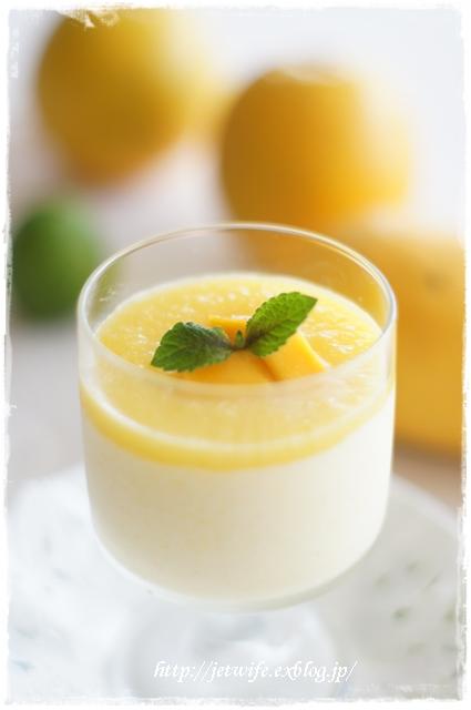 マンゴ&オレンジムース_a0254243_5123555.jpg