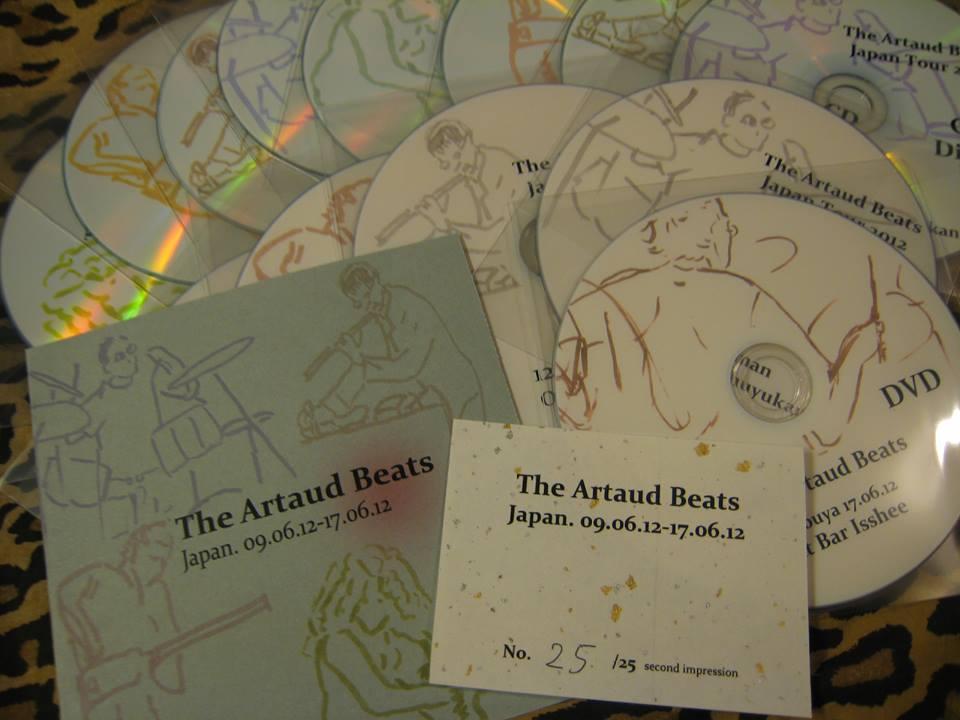 アルトー・ビーツ \'Japan 2012 revisited\' 2012日本ツアー総集編CDR_c0129545_2204381.jpg