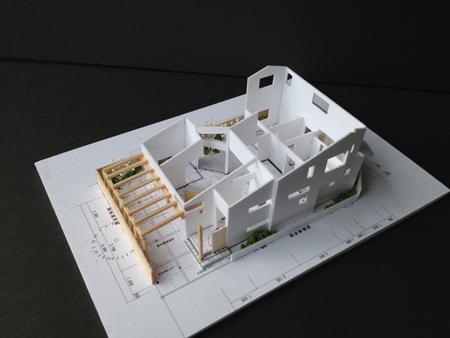 ~機能的な家事を楽しむ~★空間の変化を楽しむ家★の模型をホームページに記載しました_d0082356_18544947.jpg
