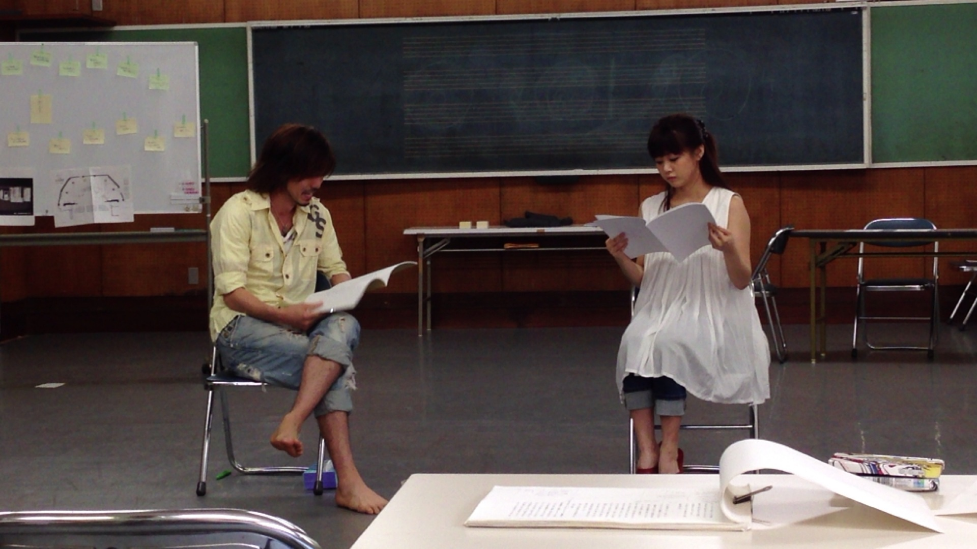 KYOHEI&新垣ペア稽古場レポート(1回目)_f0236356_14401019.jpg