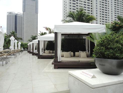 大好き♪シンガポール旅行 その4 マンダリンオリエンタルシンガポール プール_f0054260_822245.jpg