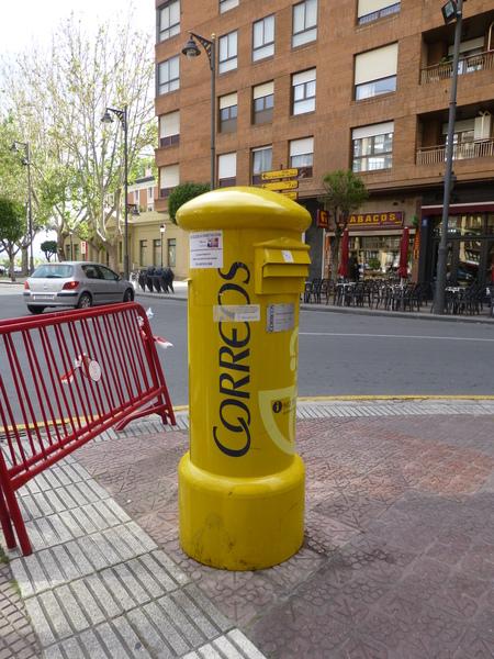 スペイン リオハシリーズ  ログローニャで朝の散策_b0011584_14163785.jpg