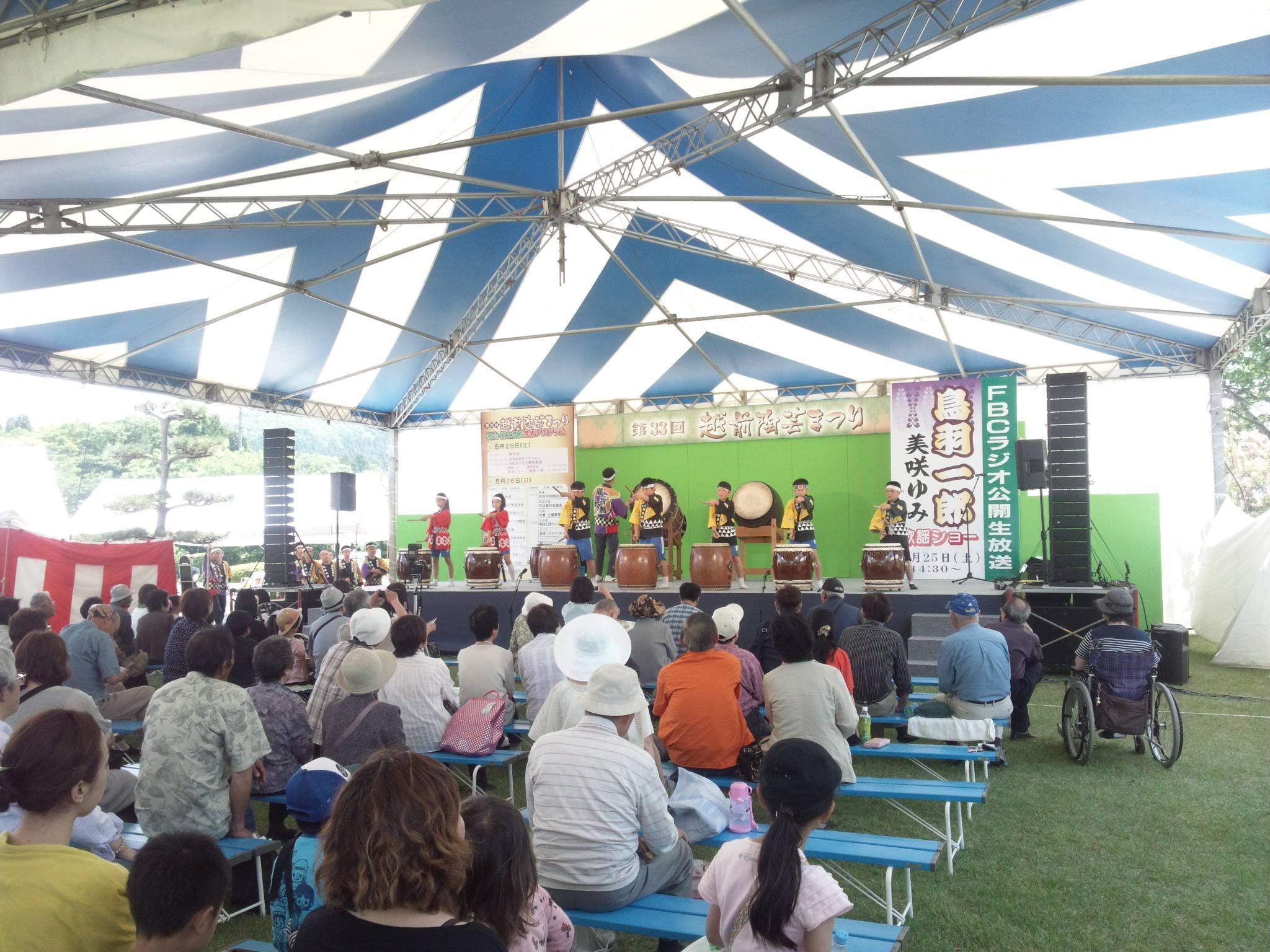 今、越前陶芸祭りに来ています。_e0119092_12423616.jpg