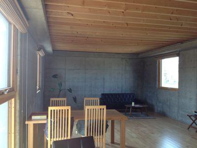 今日27日の午後 小室さんの「RCフラット北信濃」を見学する_e0054299_1943124.jpg