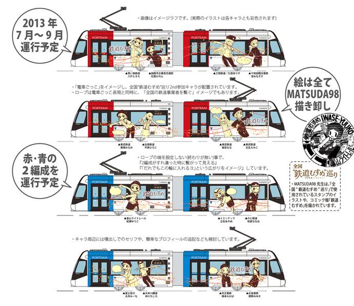 この夏(H25)『鉄道むすめラッピング電車』が富山ライトレールで運行(7月~9月運行予定)!!_e0304702_12363474.jpg