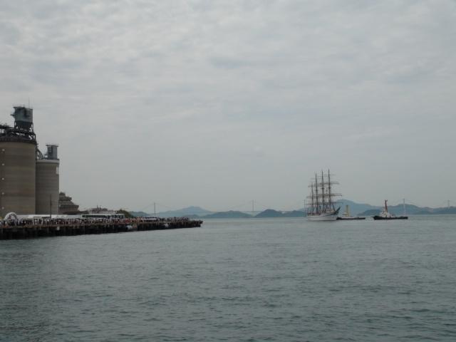 バリシップ2013/NO5帆船「日本丸」登しょう礼_f0231709_20105421.jpg