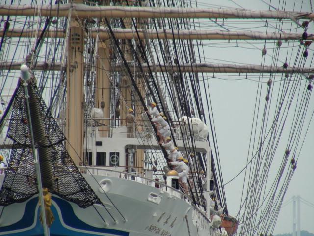 バリシップ2013/NO5帆船「日本丸」登しょう礼_f0231709_206235.jpg