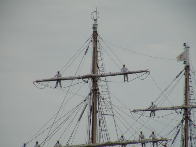 バリシップ2013/NO5帆船「日本丸」登しょう礼_f0231709_208235.jpg