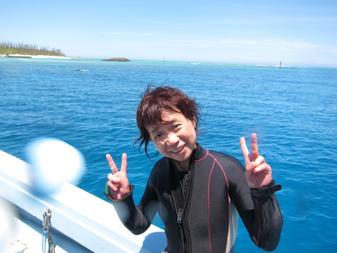5月27日夏色♪水納島ブルー!!_c0070933_22274498.jpg