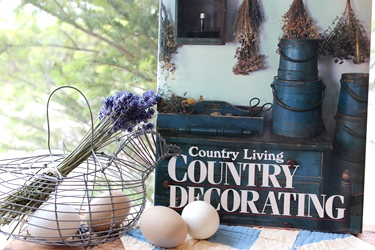 アメリカンカントリーの洋書「Country Decorating」_f0161543_16143032.jpg