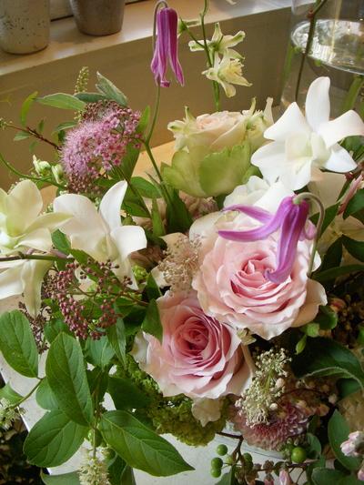 ご注文のお花。。。_a0229658_1565277.jpg