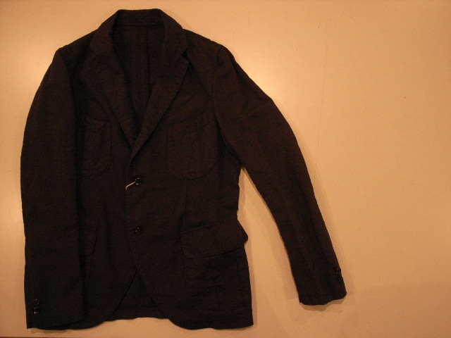"""MIGHTY-MAC × MiCHAEL TAPiA AUTHENTiCS COTTON LINEN JACKET\""ってこんなこと。_c0140560_1271838.jpg"