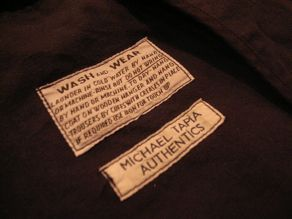 """MIGHTY-MAC × MiCHAEL TAPiA AUTHENTiCS COTTON LINEN JACKET\""ってこんなこと。_c0140560_1284998.jpg"