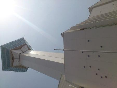 五稜郭タワー前に記念碑_b0106766_21251297.jpg