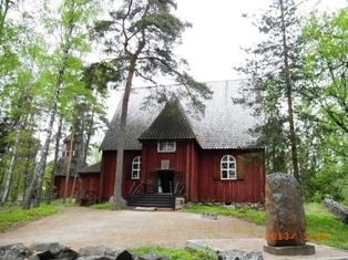 Finland セウラサーリ島の木造建築_e0195766_2030266.jpg