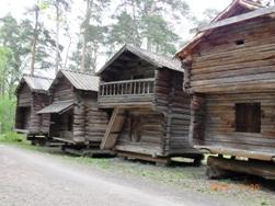 Finland セウラサーリ島の木造建築_e0195766_20335930.jpg