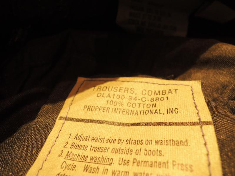 U.S.ARMY TROUSERS-NAVY COLOR---RECOMMEND--_c0176867_19251938.jpg