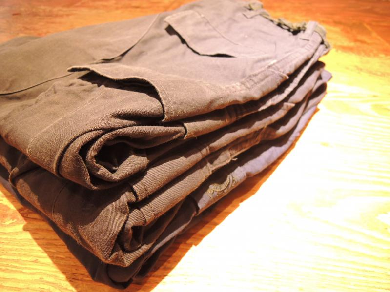 U.S.ARMY TROUSERS-NAVY COLOR---RECOMMEND--_c0176867_19255070.jpg