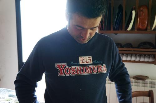 ヨシムラのトレーナーと手作りご飯_f0106597_1961138.jpg