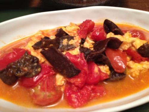 キクラゲとトマトと卵の中華煮_c0069247_213269.jpg