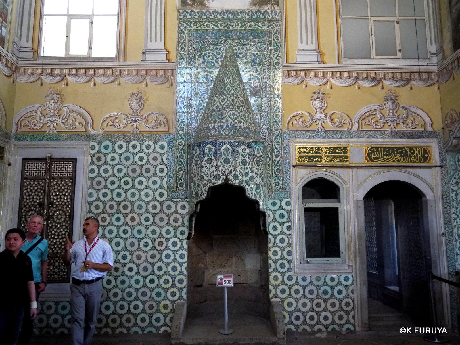 トルコ旅行記 35 トプカピ宮殿Ⅱ ハレム_a0092659_1361538.jpg