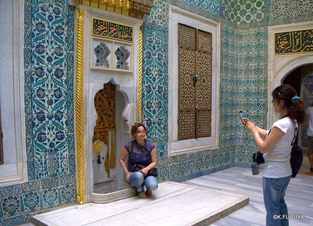 トルコ旅行記 35 トプカピ宮殿Ⅱ ハレム_a0092659_292568.jpg