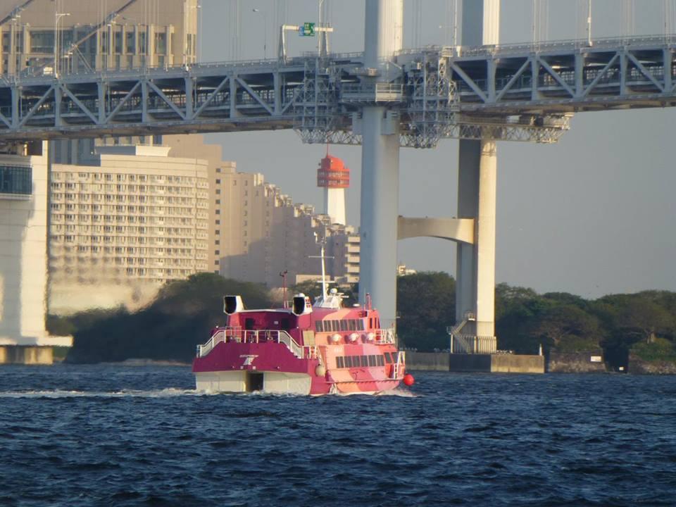 日の出 ~ 浅草 水上バスで隅田川クルーズ♪_c0100865_4541319.jpg